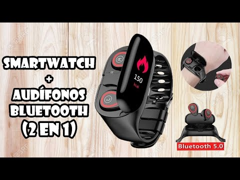 Smartwatch M1 (Headwatch) Smartwatch + Audífonos Bluettoth
