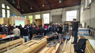 preview picture of video 'SDE 2012 - Das Team Counter Entropy der RWTH Aachen feiert Richtfest'