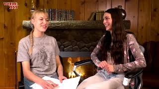 Интервью с порноактрисой  Arwen Gold Часть 1