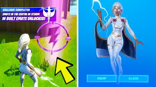 Emote as Storm in the Center of the Storm - Storm Awakening Challenges Fortnite