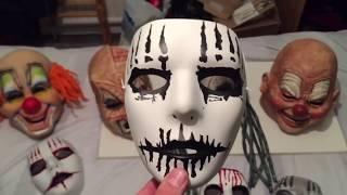 SLIPKNOT MASK COLLECTION VIDEO 18/8/15