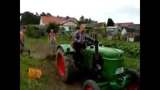 24Ps Deutz F2L612 Mit Kartoffelschleuder