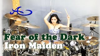 Iron Maiden - Fear Of The Dark drum cover by Ami Kim (43rd)
