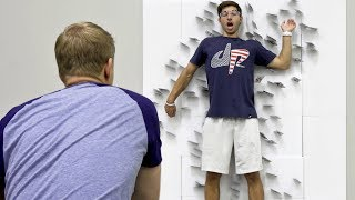 Card Throwing Trick Shots | Dude Perfect