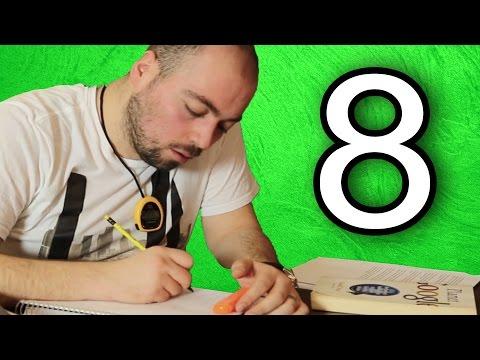 Verimli Ders Çalışmanın 8 Altın Kuralı
