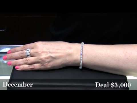 Deal of the Month: Diamond Tennis Bracelet
