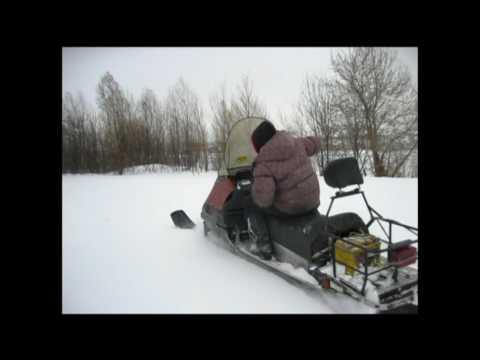 Снегоход рысь с двигателем лифан первый выезд