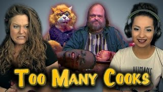 DO NOT WATCH THIS! | Girls React | Too Many Cooks