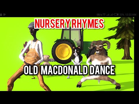 Old Macdonald  Dance and Sing Along with Farm Animals