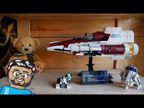 Vidéo LEGO Star Wars 75275 : Le chasseur A-wing UCS