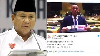 Viral Video Prabowo Dapat Dukungan dari Ruang Sidang PBB, Begini Fakta Aslinya