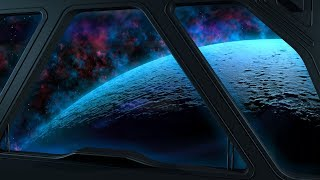 Space Sounds for Sleep or Studying | White Noise Spaceship Ambience 10 Hours