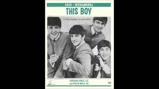The Beatles - This boy ( Alternative Version - Rare Take )