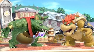 Super Smash Bros. Ultimate: King K. Rool Gameplay