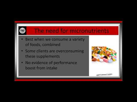 Vitamins, Minerals and Phyonutrients | Fitness Nutrition Coach ...