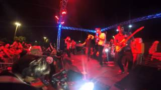 "Dance Gavin Dance- ""Carve"" LIVE 2015 @Treasure Fest"
