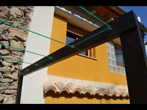 Tendedero casero - Homemade Clothes line