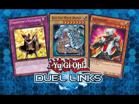 Yu-Gi-Oh Duel Links - BLUE-EYES WHITE DRAGON DECK !!! ( BLUE-EYES