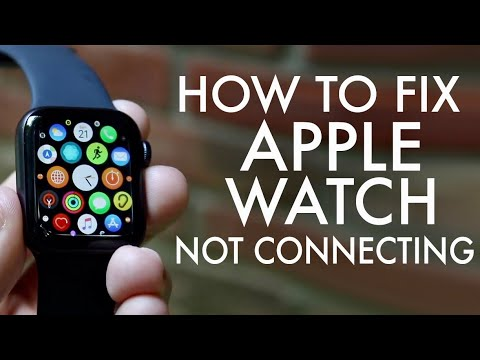 How To FIX Apple Watch Not Connecting To iPhone!