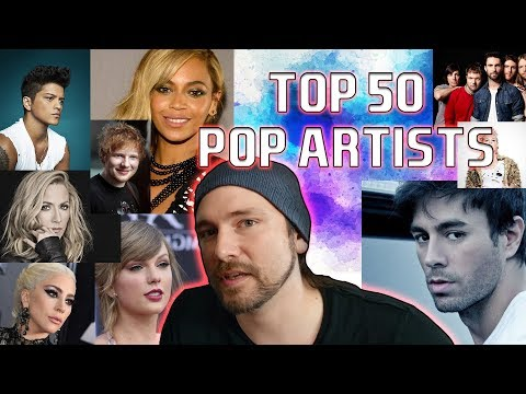 Metalhead Reviews 50 BEST Pop Artists | Mike The Music Snob Reacts
