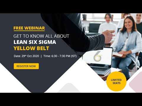 Basics of Lean Six Sigma and Role of Yellow Belt in Effective ...