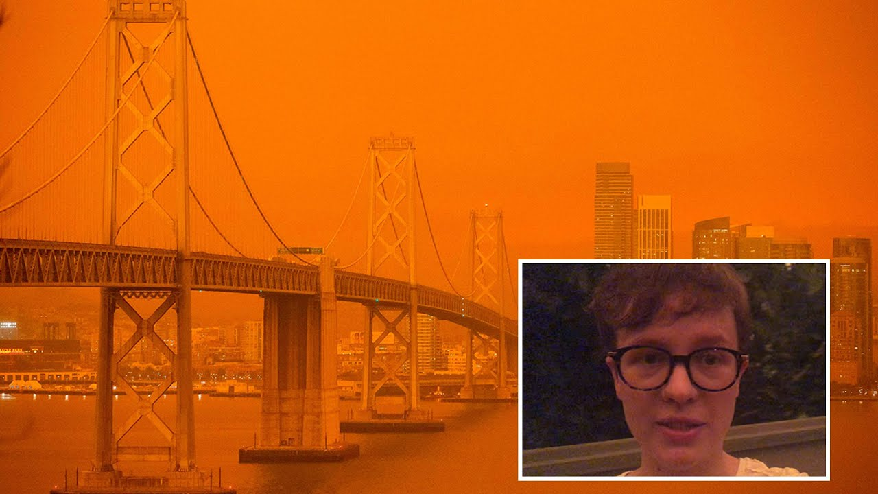 California wildfires: San Francisco sky turns apocalyptic orange
