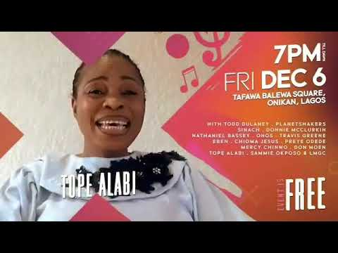 JOIN TOPE ALABI AT THE EXPERIENCE 14
