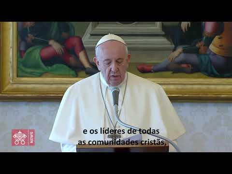 Papa convoca: todos os cristãos juntos para rezar o Pai-Nosso