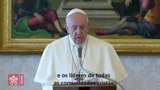 O Papa convida todos os cristãos a rezar juntos o Pai-Nosso na quarta-feira