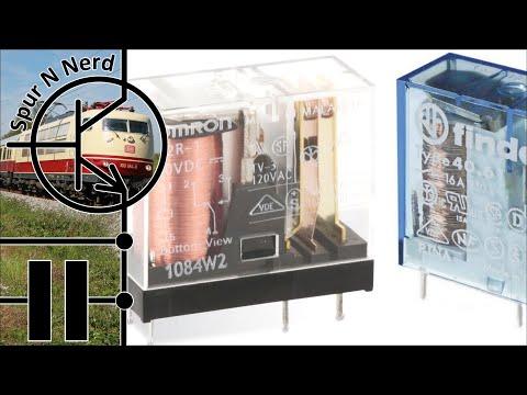Modelleisenbahn-Elektronik - Teil 4 - Relais