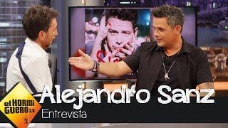 """Alejandro Sanz: """"Mi hijo de cuatro años habla cinco idiomas"""" - El Hormiguero 3.0"""