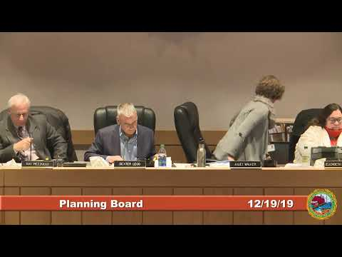 Planning Board 12.19.2019