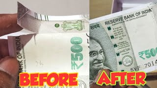 HOW TO REPAIR TORN CURRENCY NOTE | HOW TO FIX TORN CURRENCY NOTE | LIFE HACK