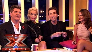 The Judges react to tonight's double elimination | The Xtra Factor 2015