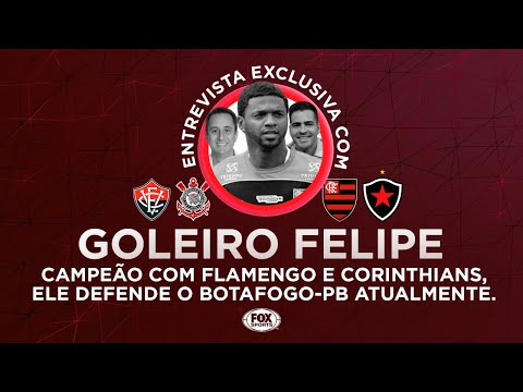 FLA E TIMÃO, títulos, polêmicas, Botafogo-PB e mais! Felipe 'Paredão' fala tudo