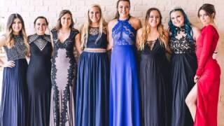 Dani Cimorelli, Kara Brooks, Lizzie Wilker, and Katherine Wilker At Prom (4/29/17)