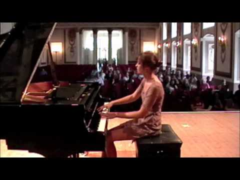My performance of Sonata in C Minor, Mvt. I, composed by Haydn at the 2012 Classical Music Festival in Eisenstadt, Austria.