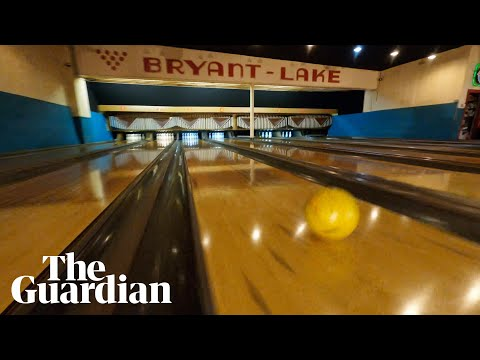 Incredible Drone Video Taken in the Bowels of a Bowling Machine