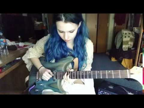 Crazy Train Guitar Solo Cover