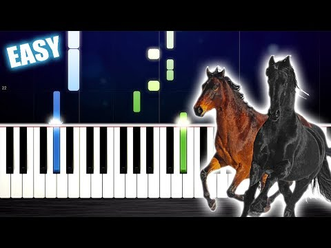 Lil Nas X - Old Town Road (feat. Billy Ray Cyrus) - EASY Piano Tutorial by PlutaX