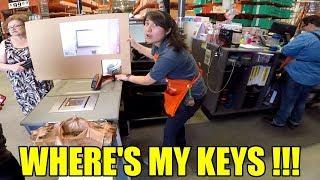 I Lost My Keys At Home Depot