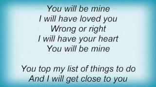 Faith Hill - You Will Be Mine Lyrics