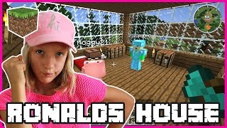 Building Ronald's House / Minecraft