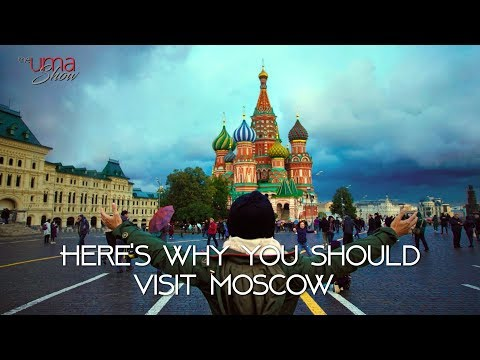 Here's Why You Should Visit Moscow (видео)