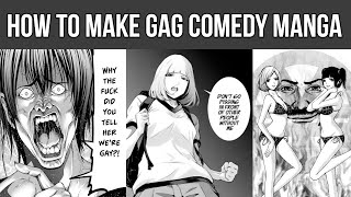 How To Make Gag Comics And Manga Using Different Kinds Of Humor