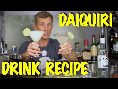 How to Make The Daiquiri Drink Recipe