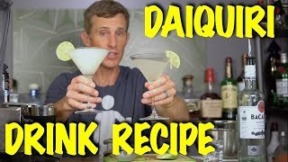 How to Make The Daiquiri Drink Recipe - Bartending 101