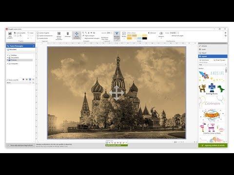 Funzionalità per la correzione del colore nel Software Saal Design