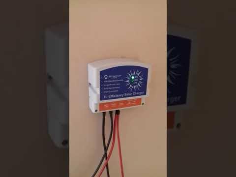 20A 12 V USB Hi-Efficiency Solar Charger