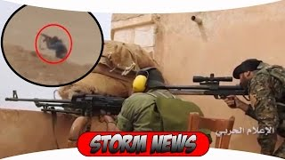 Сирия последние минуты бармалеев напавших на блок пост в Дейр эз зор